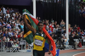 The Mantle Image Caster Semenya