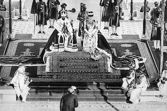 The Mantle Image Nizam Hyderbad Emperor Empress