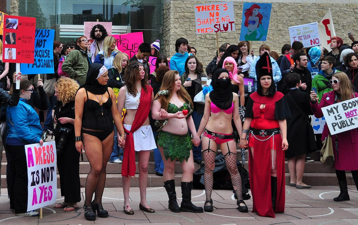 Alberta campus protest against rape culture Californication The Mantle