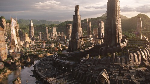 Golden City_Black Panther_Marvel Studios