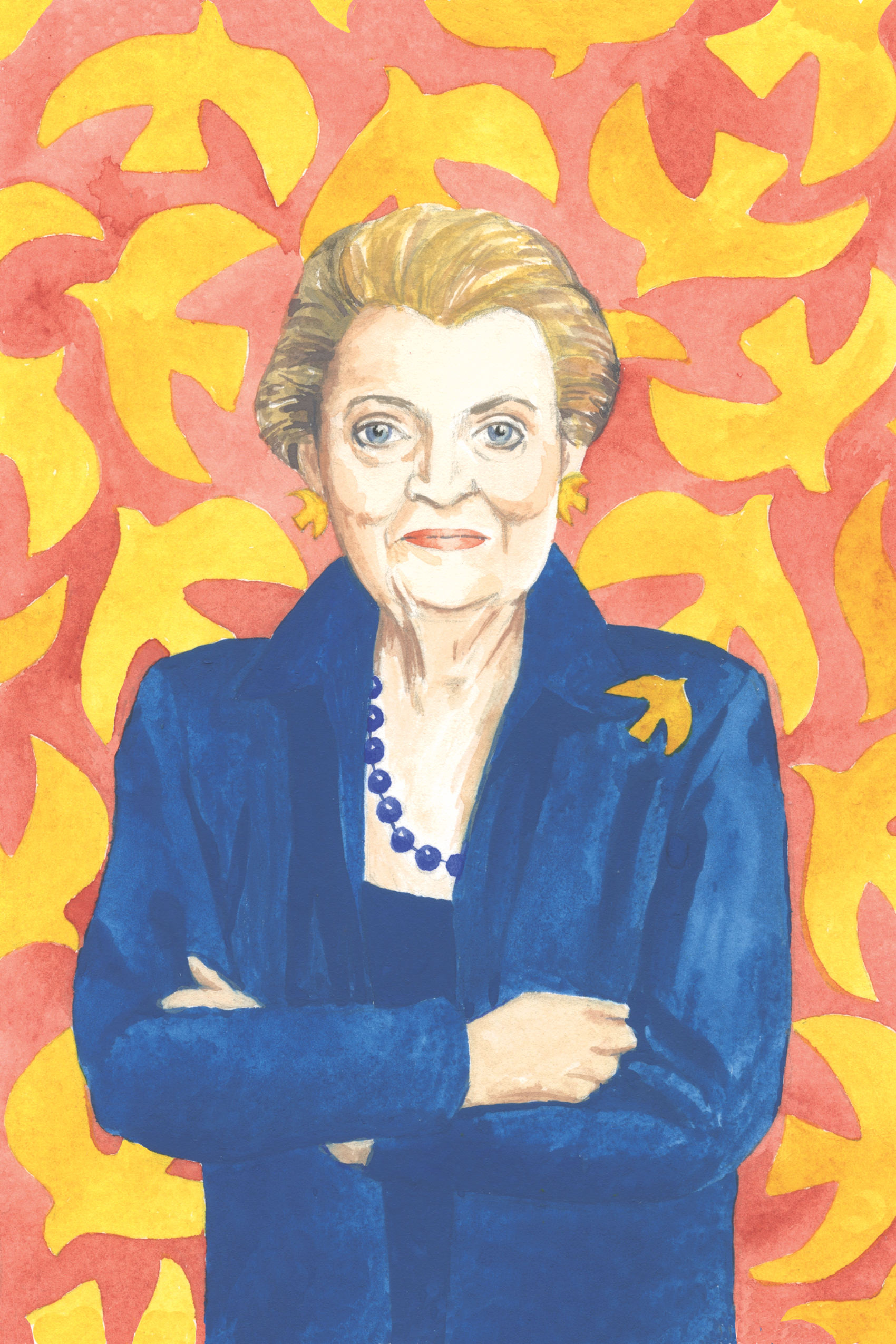 The Mantle Image Madeleine Albright