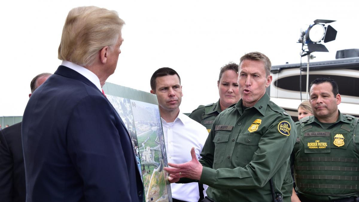 The Mantle Image Donald Trump Border Patrol