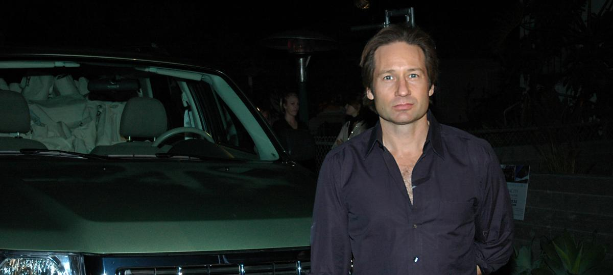 David Duchovny plays Hank Moody in Californication The Mantle