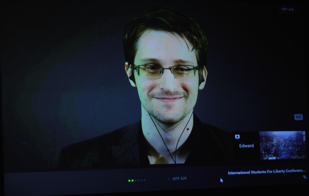 The Mantle Image Edward Snowden